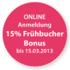 paroknowledge 2013 – Frühbucher Bonus