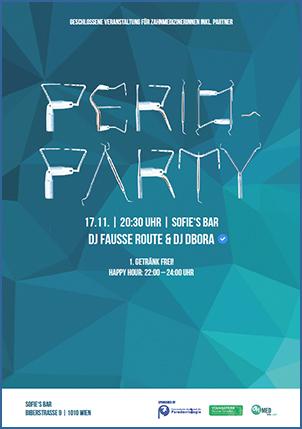 Download Flyer | PERIO-PARTY WIEN 17.11.
