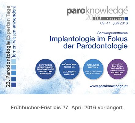Link zur paroknowledge 2016 - Programm & Anmeldung