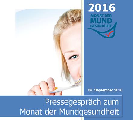 Monat der Mundgesundheit 2016