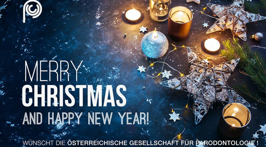 Frohe Weihnachten & Prosit Neujahr 2017