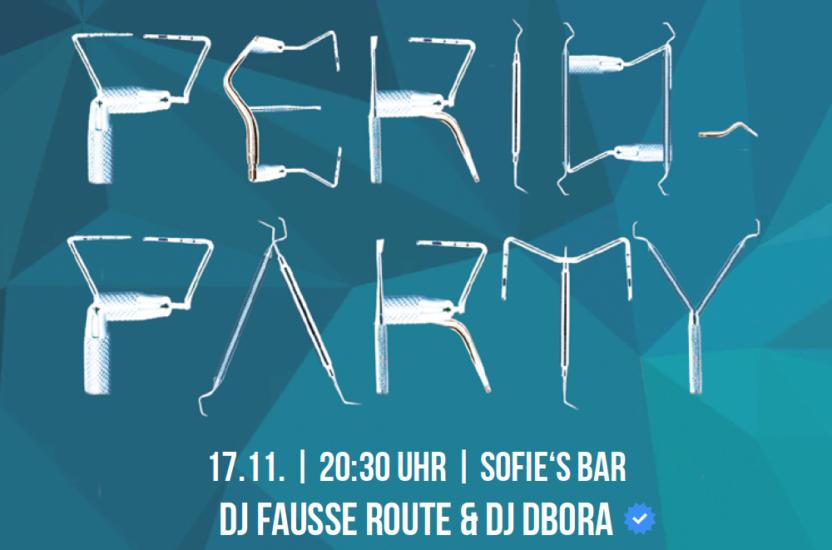 NEU | PERIO-PARTY, 17.11.2017 Wien