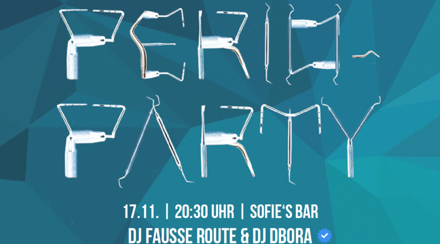 NEU | PERIO-PARTY, 17.11.2017 Wien