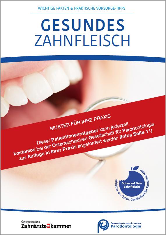 Patientenratgeber – Gesundes Zahnfleisch | kostenlos bestellen!